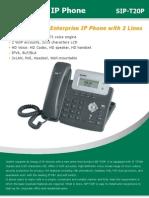 Stp-t20p Ip Phone Hd