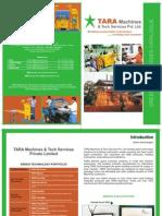 Tara Machines Brochure