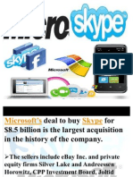 Microsoft Skype Deal