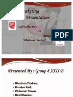 Marketing Presentation Ccd vs Barista
