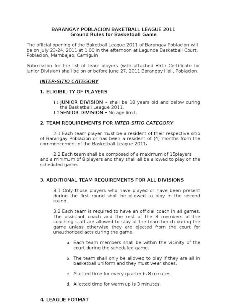 Ground rules basketball referee social institutions stopboris Choice Image