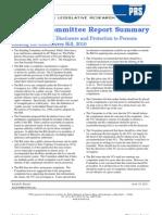 SCR Summary Public Interest Disclosure Bill