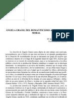 Del Romanticismo al Dualismo moral en Ángela Grassi