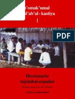 Carlos Lenkersdorf - Diccionario tojolabal-español