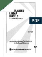 SAGE Generalized Linear Models