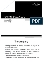 l oreal case study and globalization of american beauty