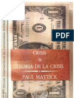 27536254 Mattick Paul Crisis y Teoria de La Crisis