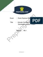 Prepking EE0-071 Exam Questions