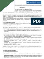 Condiciones Generales Seguro Accidentes C001 0705