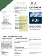 Unesco Club Brochure