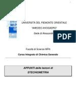 Stechiometria + Nomenclatura