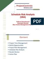 PCO - Schedule Risk Analysis (SRA) - Pedram Daneshmand 14-Jan-2011