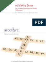 Accenture 2009 Global Consumer Satisfaction Report