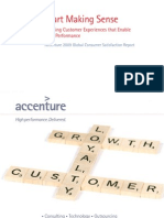 Accenture 2009 Global Consumer Satisfaction Report