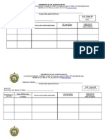 Usjr Prc Forms-new Curriculum