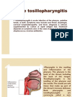 Acute Tosillopharyngitis