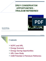 EnergyConservationinPetroleumRefineriesbyARL