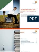 Synovate Rapport Journalistiek 2011