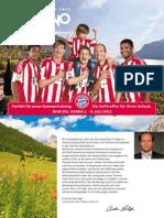 FC Bayern München im Trentino