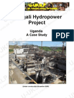Case Study of Bujagai Hydro Power Project