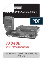 GME TX3400 User Manual