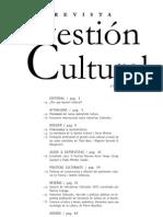 Revista Gestión Cultural N00