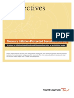Towers Watson Treasury Inflation Protected Securities TIPs White Paper