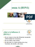 Influenza a (H1N1) Educacion B