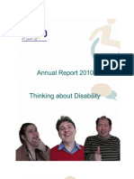 EASPD Annual Report 2010
