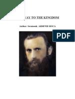 Carte - The Way to the Kigdom -Fr. Arsenie Boca