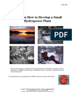 Guide on How to Develop a Small Hydro Power Plant