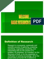 Research Seminar Revised