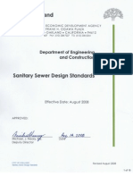Guidelines Sanitary Sewer Design