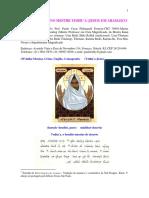 Oração do Divino Mestre Yeshu'a (Jesus)