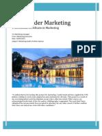 Marketing Audit -A'Sp