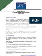 Regulamento IV Premio Sof Site