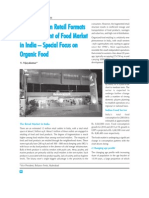 Role of Modern Retail Formats in Development of Food Market in India Today