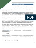 I. VARIABLE ALEATORIA -Conceptos Basicos de a