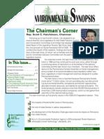 July 2011 Environmental Synopsis