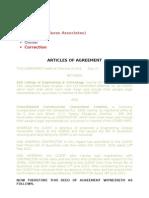 Draft Agreement 1