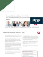 Top Employers HR Best Practices Report 2011