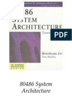 80486 System Architecture 3e - Tom Shanley