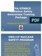 Radiation Awareness Trg Pkg
