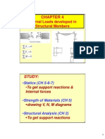 CH 4 (Structural Analysis)-V-M-N Diagrams