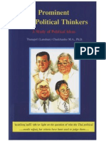 Prominent Thai Political Thainkers