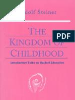 The Kindom of Childhood_Rodulf Steiner