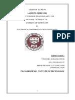 Landmine Detectors Report
