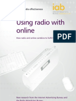IAB Study on Radio and Internet Media