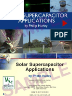 Solar Supercapacitor Applications by Phillip Hurley