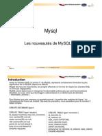 Nouveautés de MySQL 5